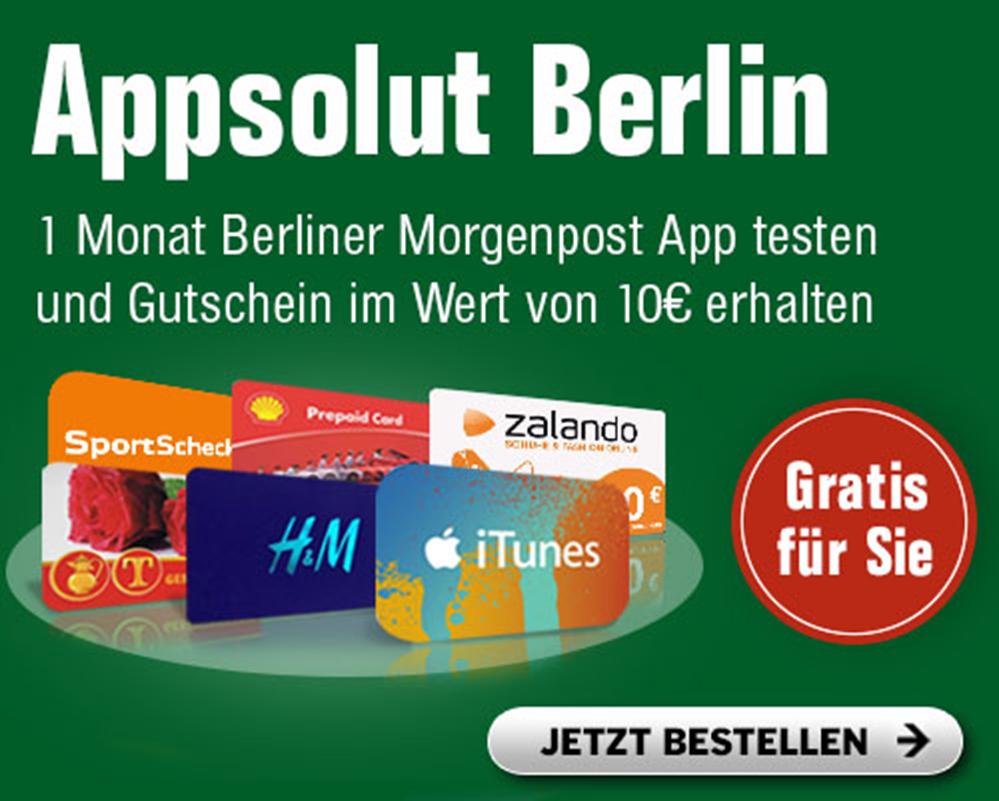 Teaser Berliner Morgenpost App