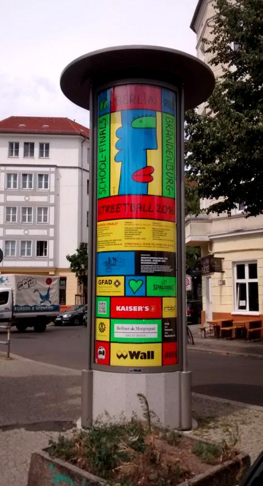 Plakat Berlin School Finals