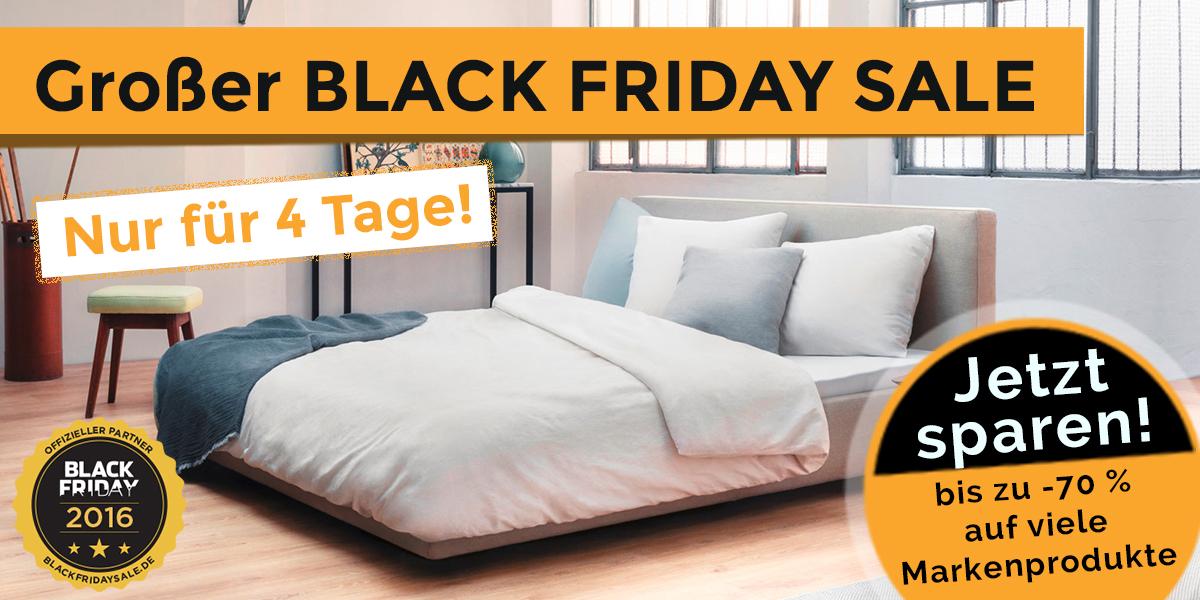 Teaser Black Friday - Perfekt Schlafen