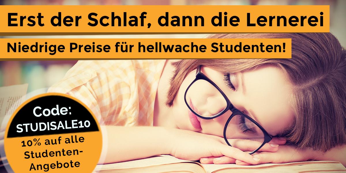 Teaser Studenten - Perfekt Schlafen