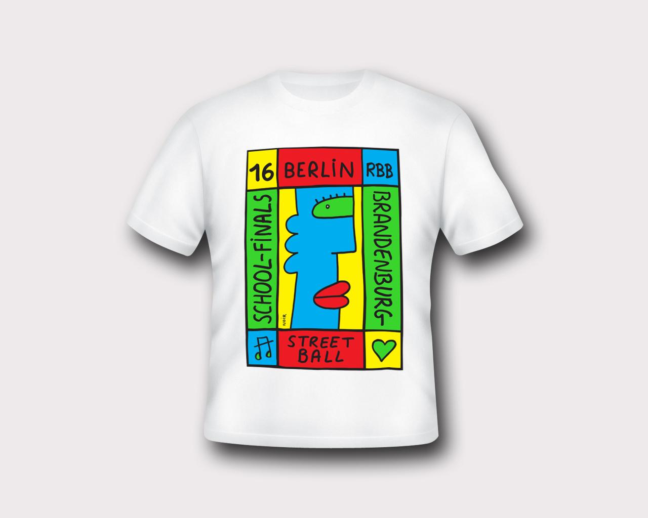 T-Shirt Berlin School Finals